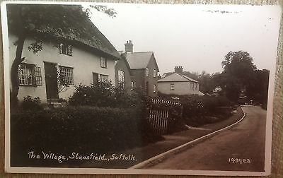Stansfield Postcard Showing The Village
