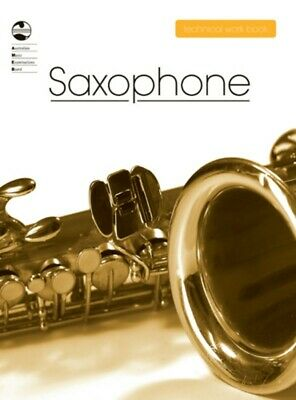 AMEB Saxophone Technical Work Book 2008 ****New 1203089039 NEW