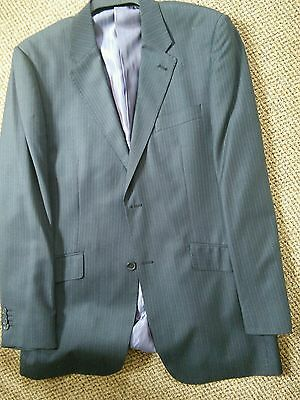 Mens  Blue Suit 40L jacket/ 34L trousers by George At Asda