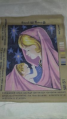 Tapestry Mary & Jesus by Royal Paris
