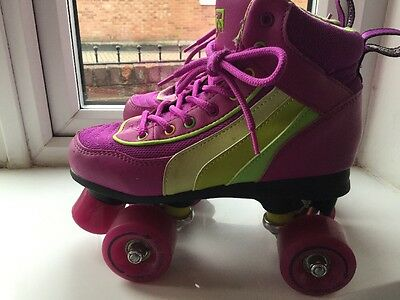 Ladies Roller Skates Size Uk 3 In Purple Practically New