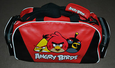 Next Angry Birds Red & Black Sports Style Bag