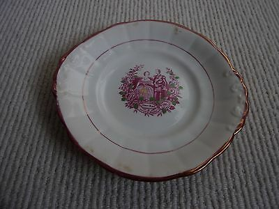 Victoria Princess Royal And Prince Frederick Of Prussia 1858 Wedding Plate
