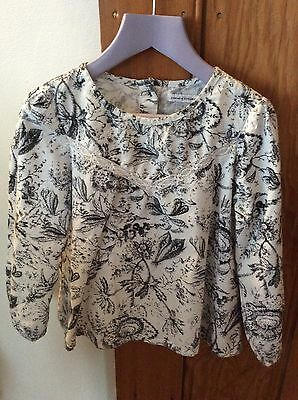 Girls French Connection Blouse Size 4-5 years
