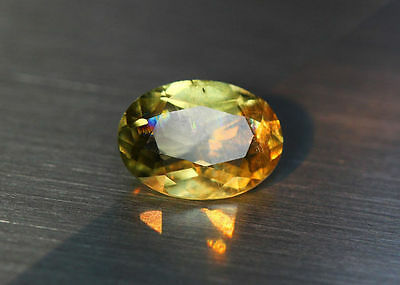 2.53 Cts_Amazing Gem Miracle Collection_100%natural Color Change Diaspore_Turkey