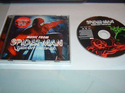 O.s.t.(U2)   - Spiderman Turn Off The Dark   Cd Album