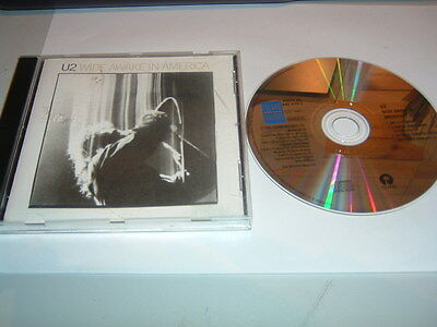 U2 - Wide Awake In America     Cd Album