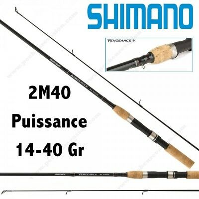 Canne Leurre Shimano Vengeance Bx 240 Mh Spinning