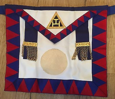 Royal Arch - Provincial Chapter Officers Lambskin Apron