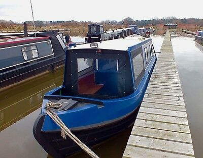 32' Cruiser Stern Narrowboat Day Boat, Weekend boat, Canal Boat