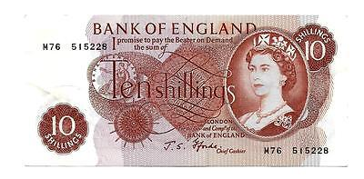 10 Shillings banknote England-Great Britain, sign FForde , Replacement-M 76-XF++
