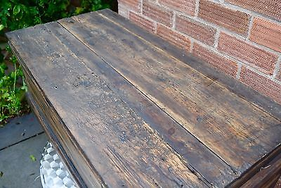 Rustic Vintage Trunk Chest (not reproduction)