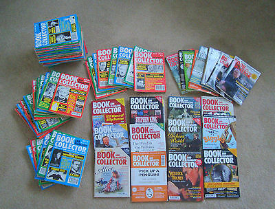 85 x  BOOK AND MAGAZINE COLLECTOR MAGAZINES