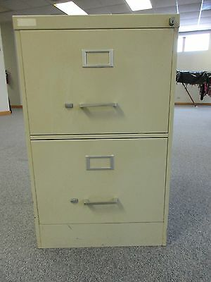Legal Size- Heavy Duty Steel 2-Drawer Professional Office File Cabinet- Vertical