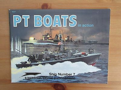 PT BOATS IN ACTION OLD SQUADRON BOOK boat ship number 7 connelly photo