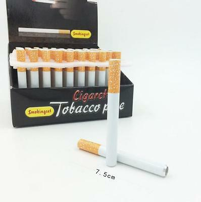 1pcs High Quality  Real Cigarette Shape Tobacco Pipe
