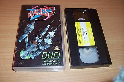 BLAKES 7 SEVEN VIDEO - Duel - Sequel to The Beginning - RARE