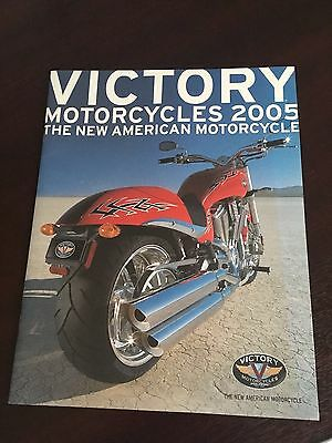 Genuine 2005 Victory Motorcycles Sales Literature Brochure Mint Condition