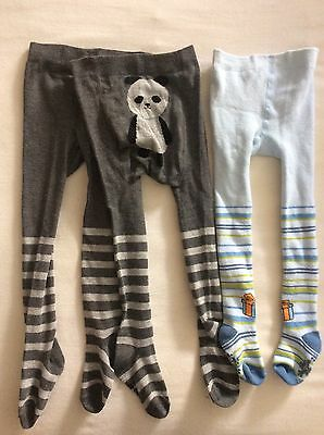 3x Boy Tights 18-24m