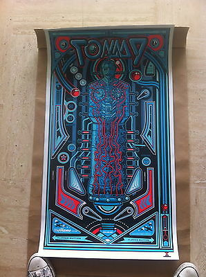 Poster TOMMY - The Who - Jesse Philips - Mondo Alamo Drafthouse - Signed edition