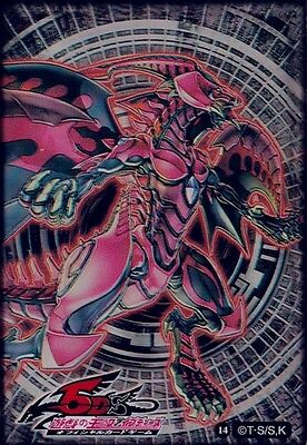 YU-GI-OH Card Protecter Red Nova Dragon Card Sleeves 50 pieces 63*90mm