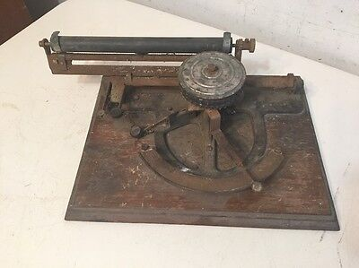 Extremely Rare Peoples Index Typewriter Circa 1890 Restoration Project
