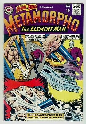 Brave and the Bold #57 NM+ 9.6 OW/W pages 1965 DC Silver age 1st Metamorpho