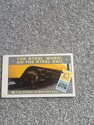1986 Gb The Story Of British Rail £5 Stamp Booklet - Mint_Lot 2