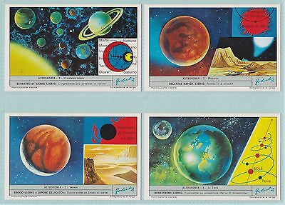 Liebig Cards - Astronomy I  (S1840/F1837 ) - Complete Set
