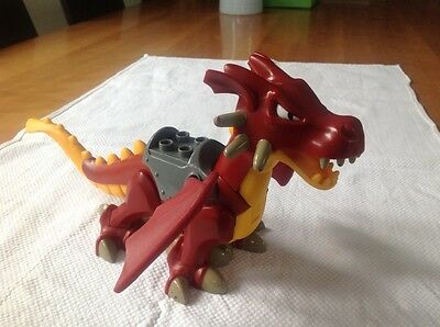 Lego Red Duplo Dragon without Flame