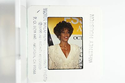 Whitney Houston rare Archive  Publicity Slide Negative 5