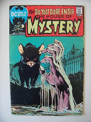HOUSE OF MYSTERY #189 FINE/F- awesome Neal Adams cover + Wood & Sutton art