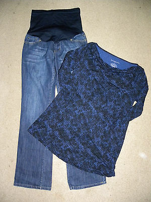 womens liz lange 2pc.maternity lot small/sz.2-#839
