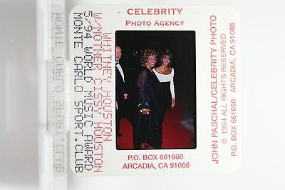 Whitney Houston rare Archive  Publicity Slide Negative 9