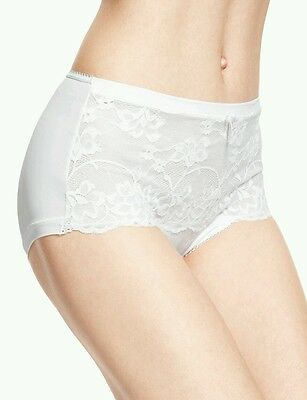 M&S PER UNA 2 Pairs High Rise Jasmine Lace Shorts Knickers ~ UK20 ~ NEW
