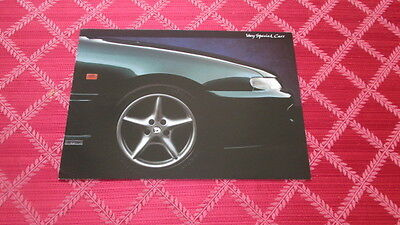 """1994 Holden Hsv """"very Special Cars"""" Sales Brochure"""