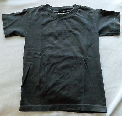 Grey Youth Size Small Tee Shirt T-Shirt