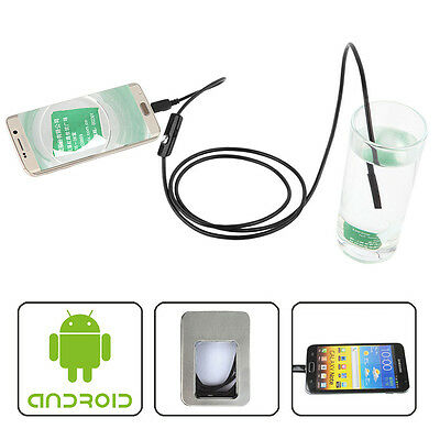 5M 7mm 6-LED IP67 Wasserdichte Endoskop-Inspektionskamera für Android-Telefone