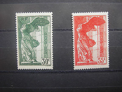 1937   timbre france yt n° 354/355    neuf **