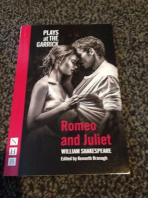 Plays At The Garrick: Romeo & Juliet - Edited By Kenneth Branagh - BRAND NEW