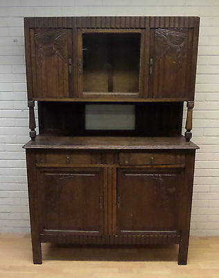 EARLY 20thC FRENCH OAK DRESSER - FOR RESTORATION/PAINTING