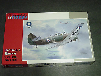 "CAC Ca3-5 Wirrraway ""First Blood Over Rabul"" Special Hobby 1/72"