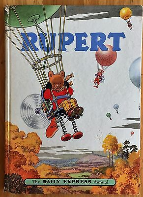 RUPERT ORIGINAL ANNUAL 1957 Price Clipped Inscribed VG