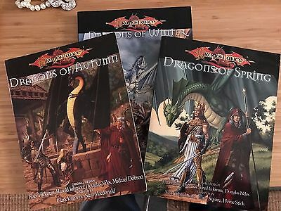 d20 D&D 3.5 Dragonlance: Complete War of the Lance campaign saga