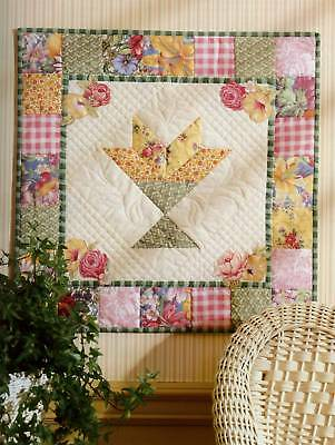 Quilting Pattern Book A Year Of Wall Quilts Baby Country Floral 12 Designs