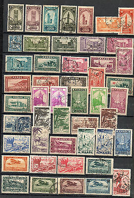 MAROC anciennes colonies collection 2 scanns