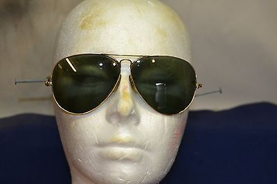 Vintage Ray Ban Aviator Sun Glasses With Original Case