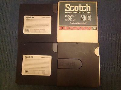 """Scotch reel to reel 7"""" Recording Tapes"""