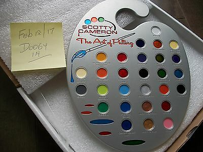 Scotty Cameron painters palette wall hanger