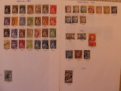 Portugal  collection of 147 stamps